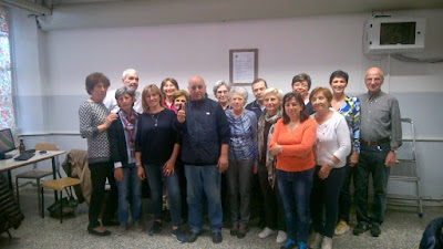 Foto dell'ultimo giorno di lezione Informatica 3 - UTE La Filanda