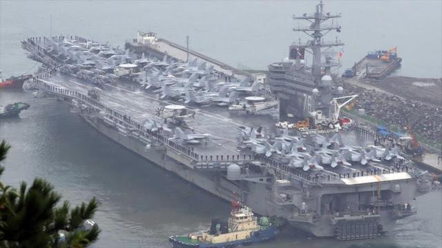 Militares de EEUU informan a Reino Unido de un ataque a Norcorea