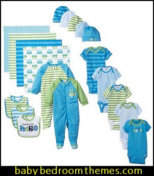 Baby Boys 19-Piece Essentials Gift Set