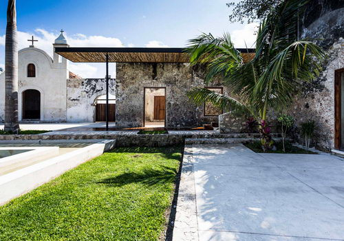 AS Arquitectura Ubah Niop Hacienda Meksiko Juara Architizer A+ Awards 2016