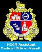 MCGM Assistant Medical Officer Result