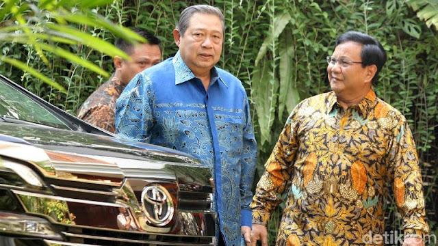 SBY Sebut Saya Yakin Presiden NKRI Selanjutnya Adalah Pak Prabowo