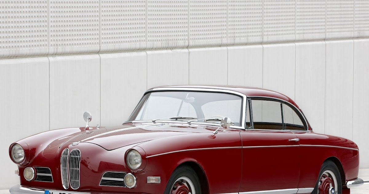 Classic Car Posters Bmw 503 Coupe
