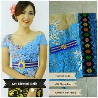 model kebaya set tile stick bella