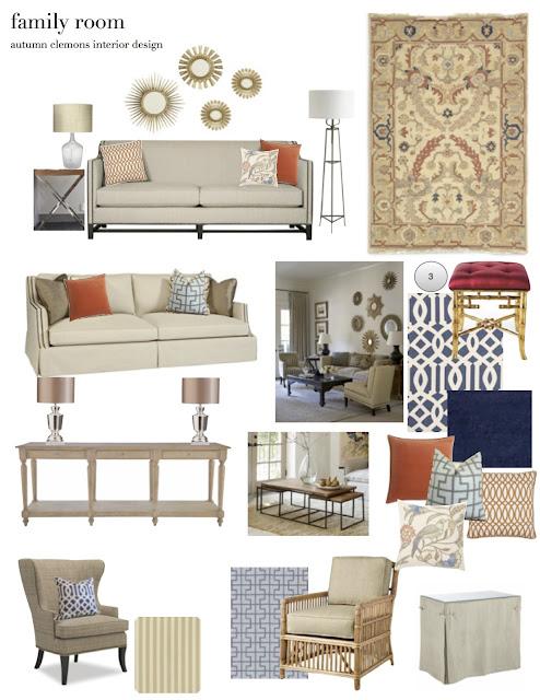 Room Design Program: Design Dump: Design Plan-family Room