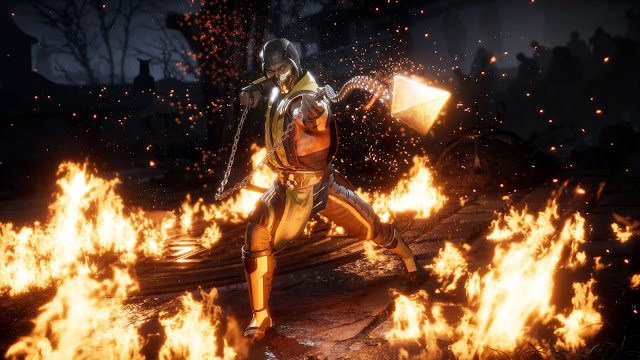 mortal kombat 11 netherrealm studio scorpion mk11