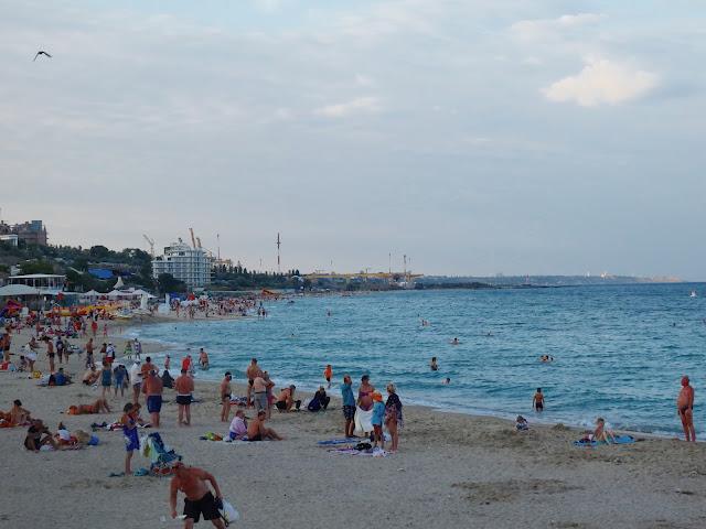 Plaża miejska w Iliczewsku