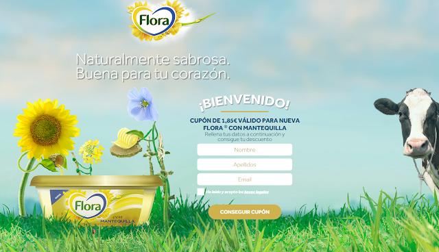 Cupón Flora