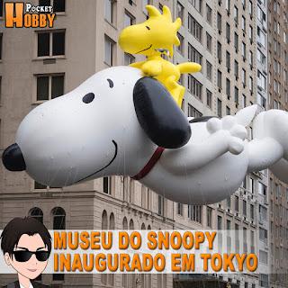 Pocket Hobby - www.pockethobby.com - Primeiro Museu do Snoopy Inaugurado em Tokyo