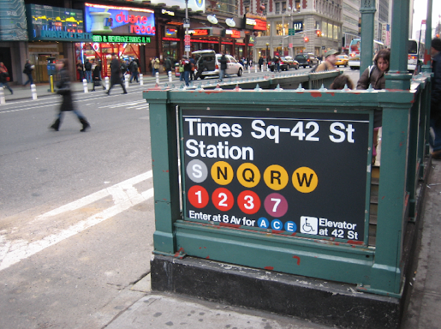 Como chegar a Times Square em Nova York