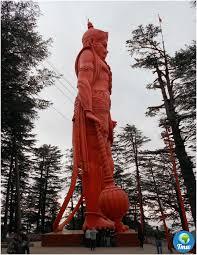 World's Tallest Statue of Lord Hanuman - Jakhu Temple