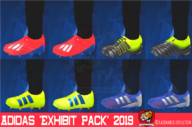 Adidas Exhibit Boots Pack 2019 For PES PSP (PPSSPP)