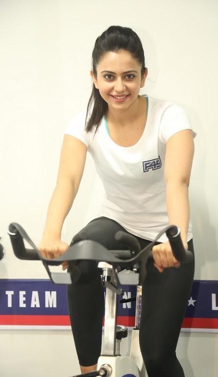 Rakul Preet Singh At F45 Gym launch