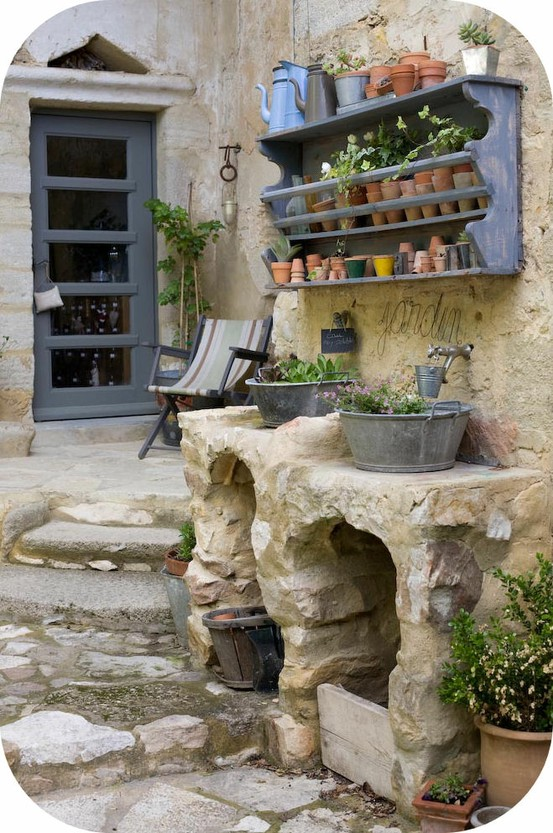 Garden Potting Benches Sinks And Tools