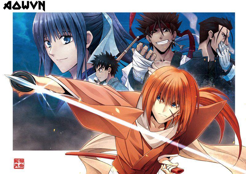 kenshin - [ Anime 3gp Mp4 ] Runouni Kenshin + OVA + Special | Vietsub - Max hay