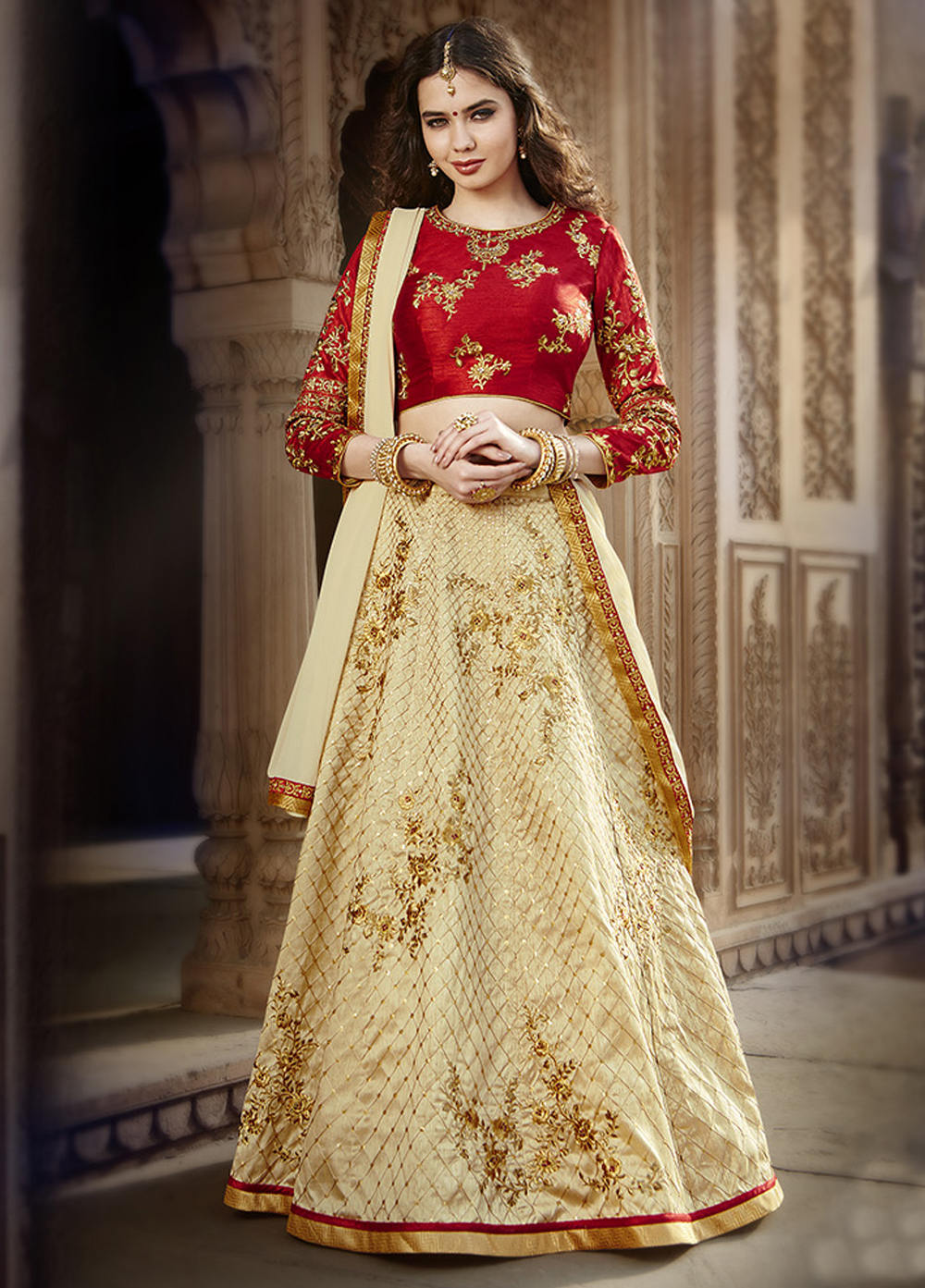 Top Designer Banglori Silk Wedding Wear Lehenga Choli