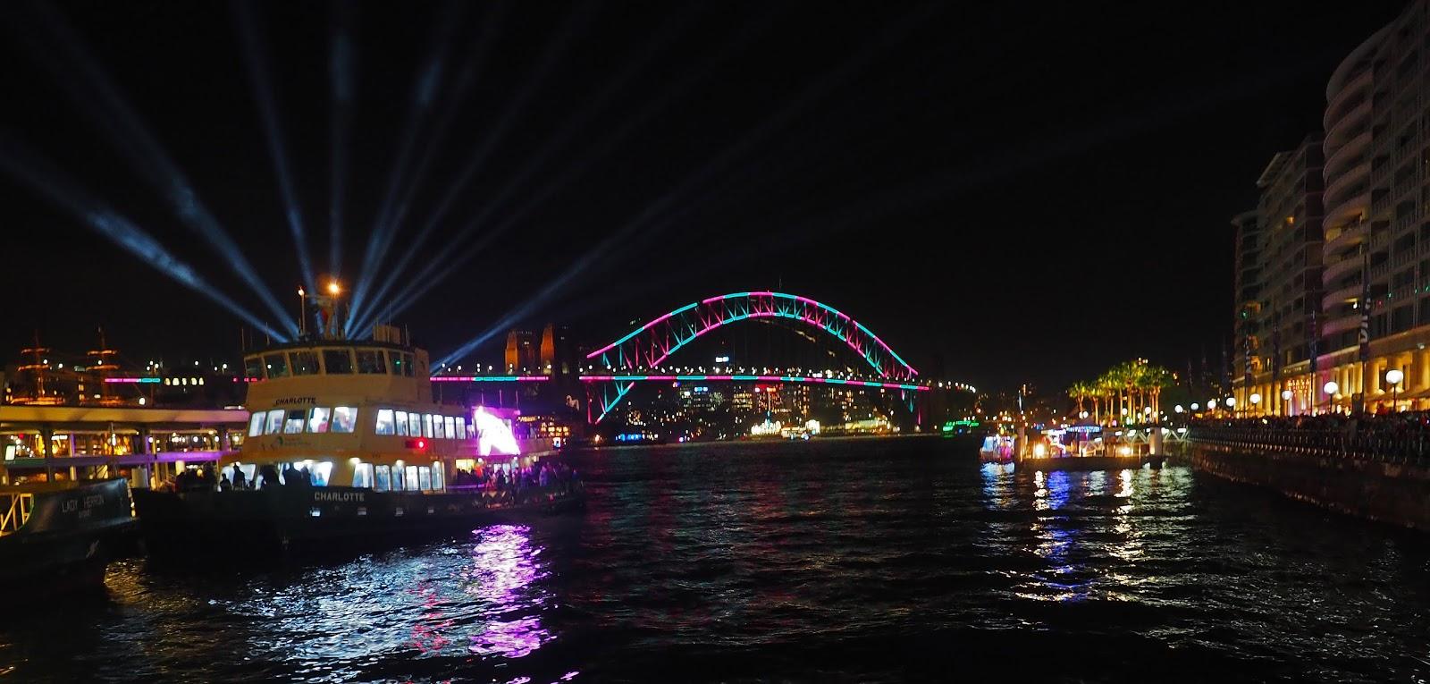 Vivid Sydney Circular Quay