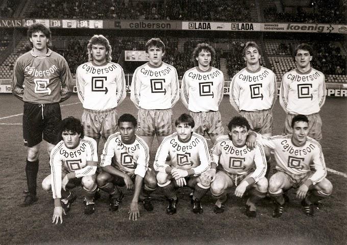 F.C SOCHAUX-MONTBELIARD 1987-88.