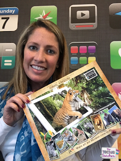 Animal Kingdom Augmented Reality really makes safari animals come to life in their habitat! This book is a MUST for any elementary classroom and perfect for your animal unit.