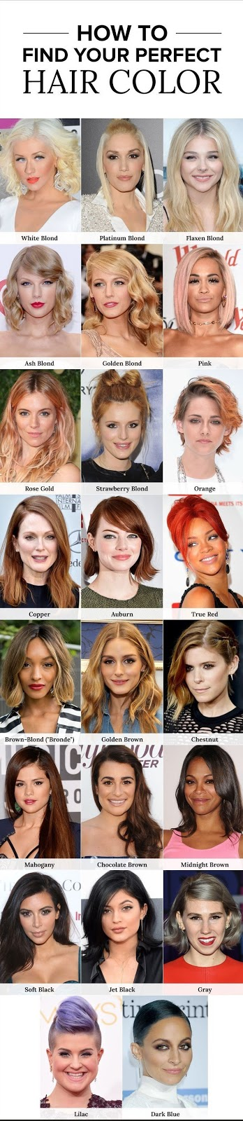 how to find perfect hair colors