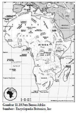 Bentang Alam Benua Afrika