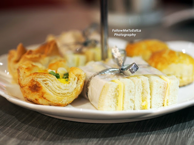 Finger Sandwiches Chicken Ham & Cheese, Egg & Mayonnaise, Cucumber & Cheese