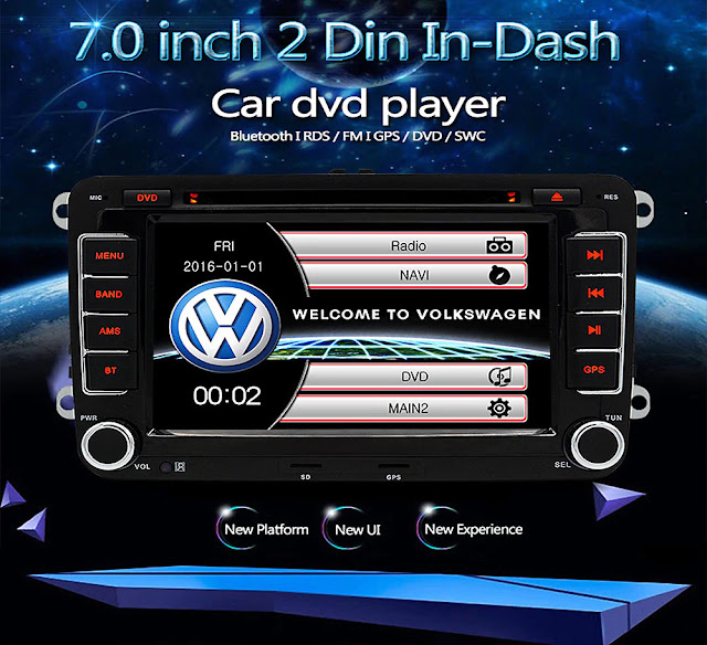 Coupon & Review Junsun DVD-7.0-CE 7.0 inch 2 Din In-dash Car DVD Mp3 Player