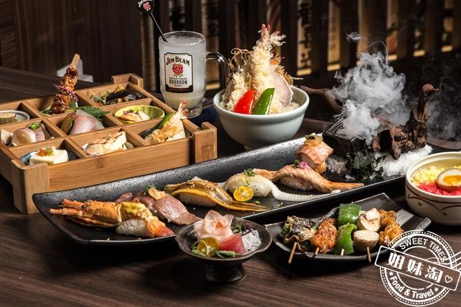 不走浮誇路線了!這次來真的!日式懷石料理免千元搬上桌吃一口帶你飛到日本歐意系~-墨吉日本料理