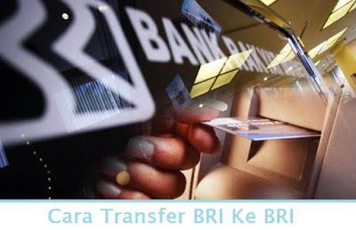 Cara Transfer BRI Ke BRI (Termudah.com)