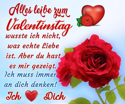 Alles leibe zum Valentinstag Fröhlichen  Sprüche  Grüße