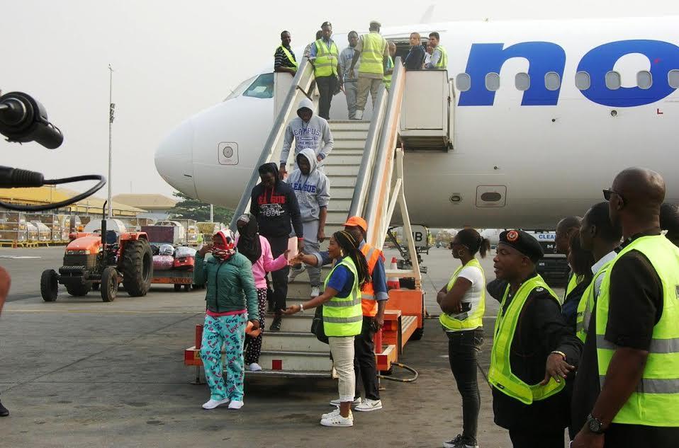 40 nigerians deported from Italy - www.djcentiz.com