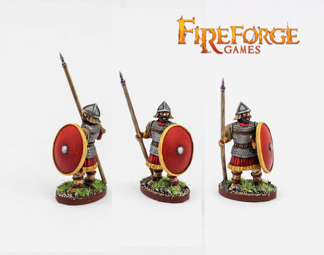 Fireforge Games: New  Plastic Skoutatoi Infantry Previewed
