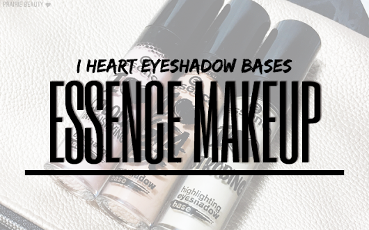 Prairie Beauty: REVIEW: Essence Eyeshadow Bases