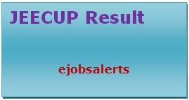 JEECUP Result 2017