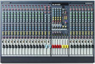 3 mixer sound system ALLEN & HEATH yang bagus