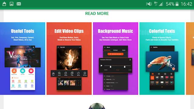 أفضل تطبيق لعمل مونتاج فيديو للاندرويد  نحن في تطور تكنولوجي VideoShow - Video Editor, Video Maker