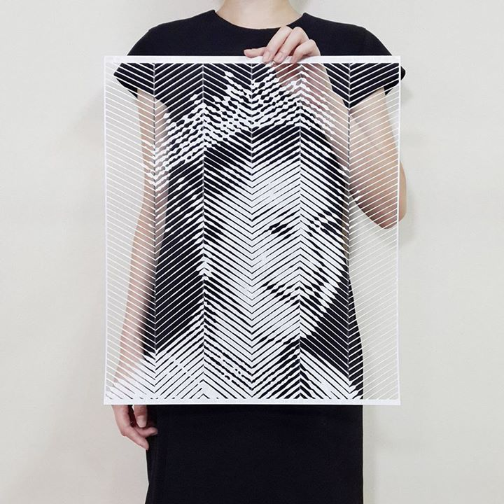 21-Queen-Elizabeth-II-Yoo-Hyun-Paper-Cut-Celebrity-Photo-Realistic-Portraits-www-designstack-co