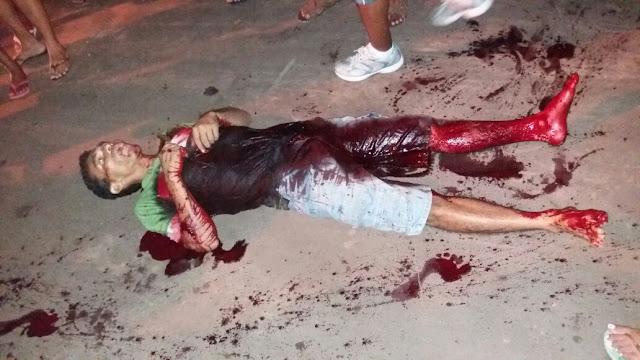 Homem é morto com 12 golpes de faca em Caxias