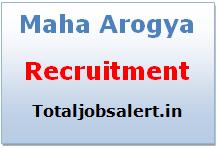 Maha Arogya Recruitment 2016 Medical Officer Group A 412 Jobs