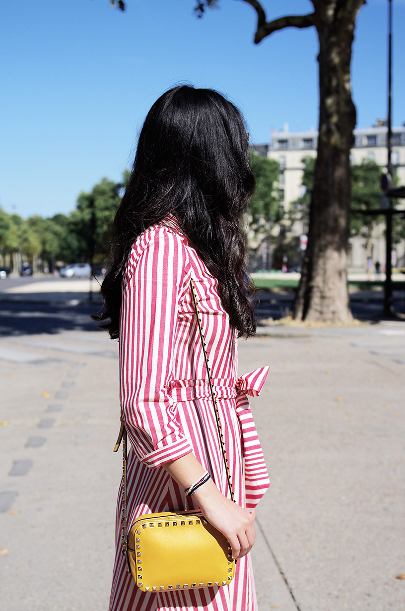 Elizabeth l Summer in stripes outfit blog mode l Zara Valentino Chanel l THEDEETSONE l http://thedeetsone.blogspot.fr