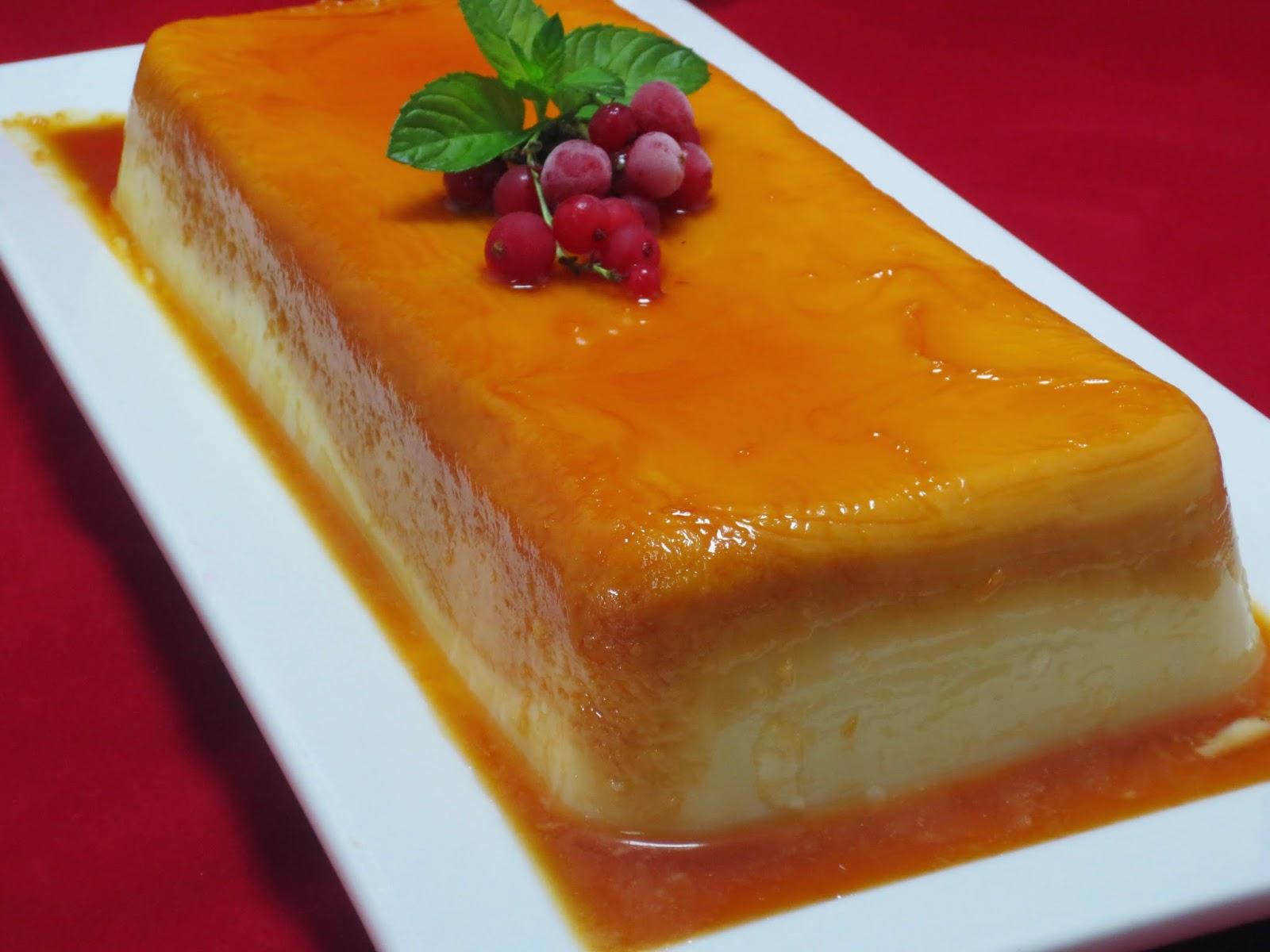 Tarta-flan de queso al caramelo Thermomix