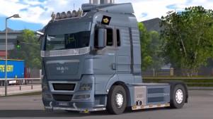 MAN TGX 2010 v 2.5 truck mod