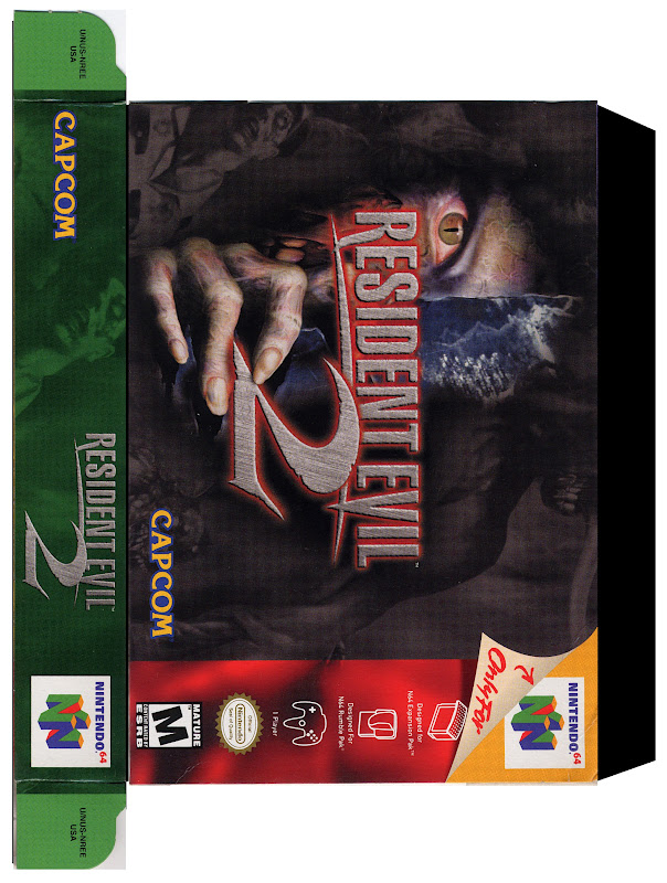 Gamer Labels: Resident Evil 2