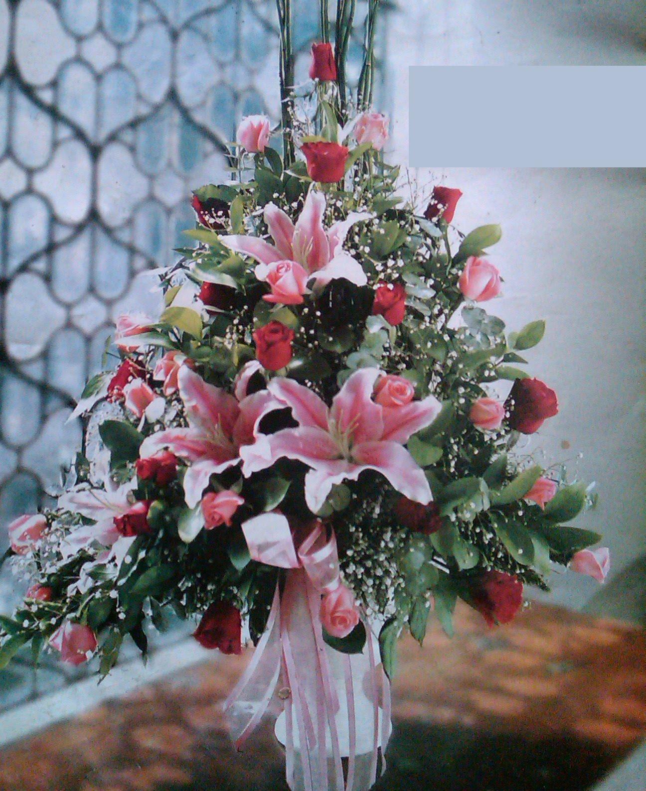 Toko Bunga Karangan Bunga Papan Rangkaian Bunga Segar Dekorasi