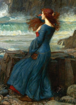 Miranda, The Tempest, Waterhouse: Romanticismo