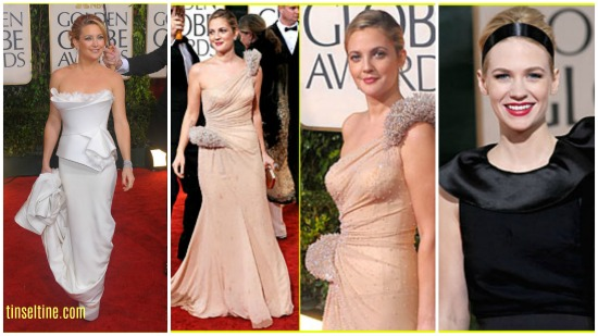 best and worst dress 67th Golden Globes 2010