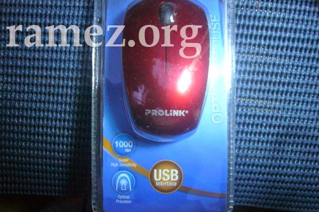 PROLINK PMO628U Optical Wired Mouse Ulasan Lengkap
