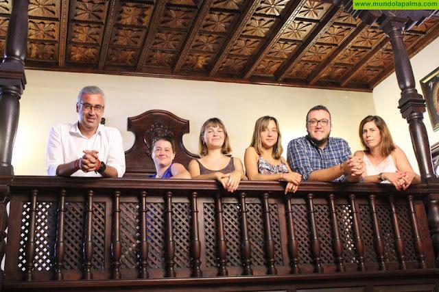 Dos jóvenes europeas se incorporan al programa Erasmus+ en el Ayuntamiento de Santa Cruz de La Palma