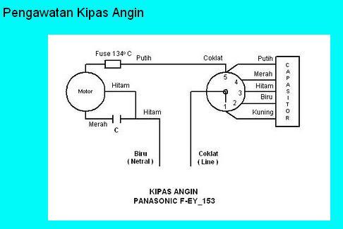 Diagram Pengawatan Kipas Angin ~ Computer and Electric
