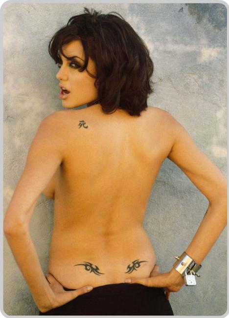 Hot Wallpaper Angelina Jolie Tattoos-9440